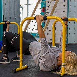 Pull exercise healthy back curvalicious ladies gym dubai