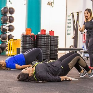 Curvalicious Ladies gym dubai hydration water summer
