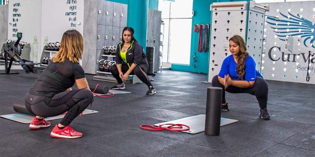 ladies mobility curvalicious gym dubai
