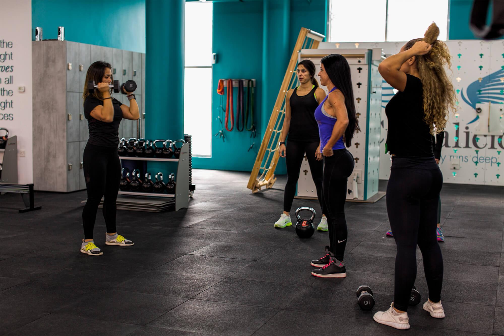 Group Exercise Classes for Women in Dubai